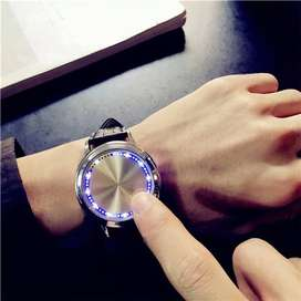 LED Touch Screen Watch Simple Smart Electronic Watch