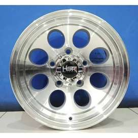 Jual velg Jimny/Katana/Feroza ring 15 lebar 8 tipe Duffy silver