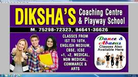 Teacher for Science and Maths for class 9th and 10th