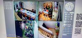 Paket Kamera CCTV 4 channel beningg gan