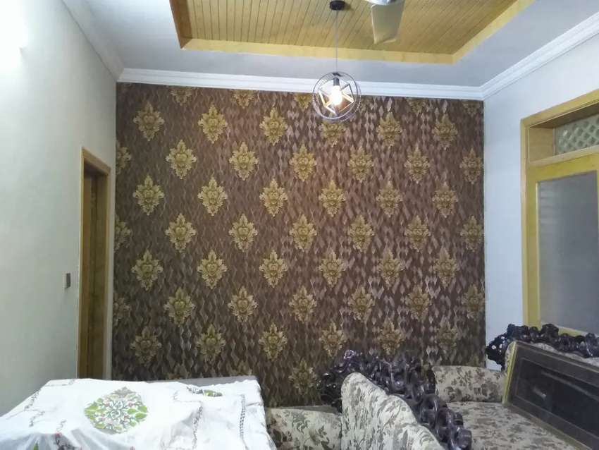 Wallpapers and blinds glass paper 0