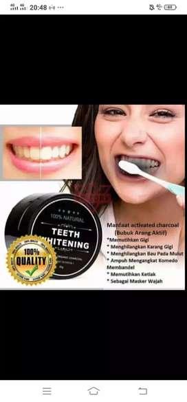 Pemutih gigi putih