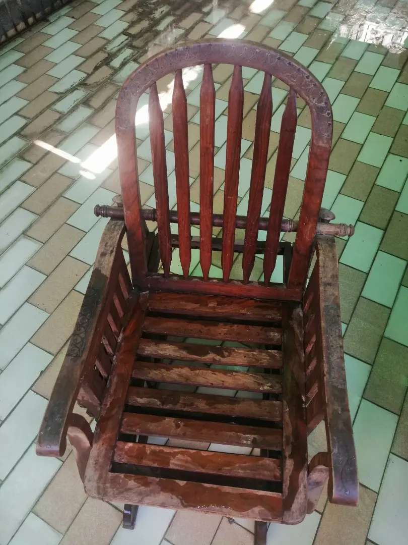Fully pure wooden Relaxing chair