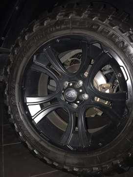 Velg XD Series ori R 20 Jeep Wrangler JK Rubicon