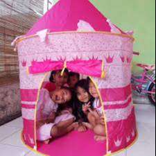 Tenda Bahagiakan Anak Model Castle Kids Portable Tent