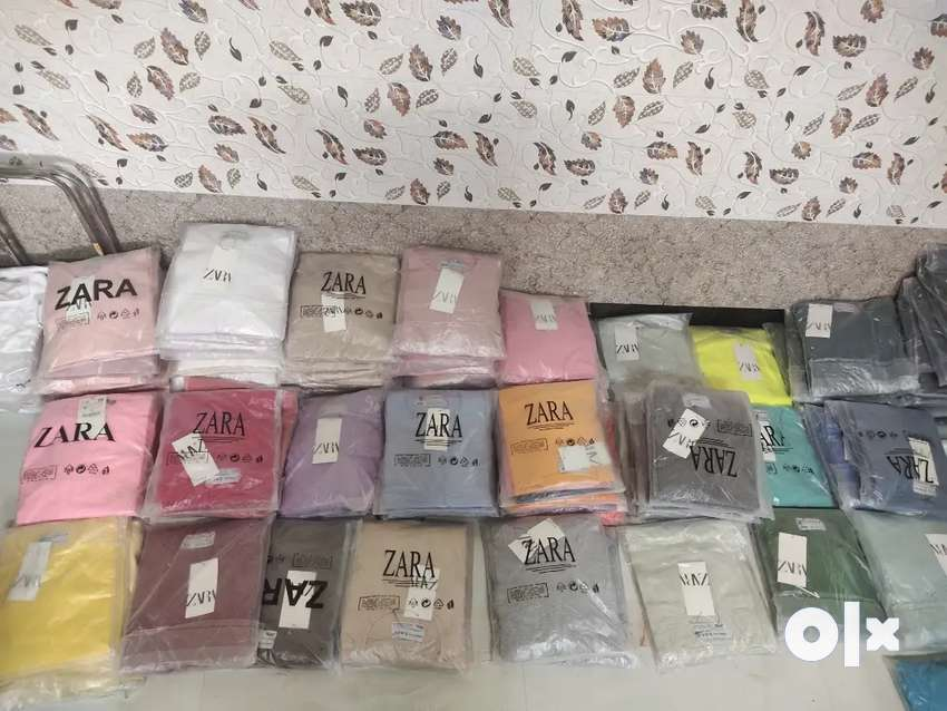 Lot Zara t shirt 4way imp fabric