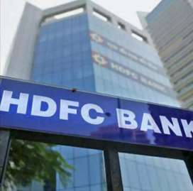 Urgent required for hdfc bank payroll joining male and female candidet