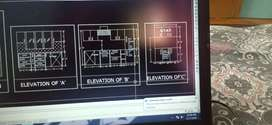 Designer for kitchen and interior  drawings