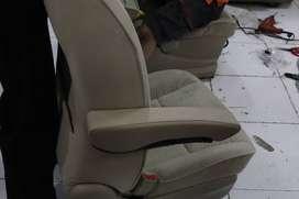 Pasang ArmRest Jok Mobil Custom Xpander Mobilio Ertiga Brv