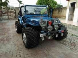 modify Blue willy jeep