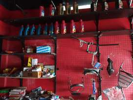 Bike accessories and spare parts stock for sale