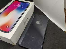 Apple iPhone X 64gb black color in brand new condition