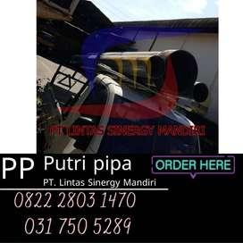 Pipa PVC Supralon Siap Kirim Luar Pulau