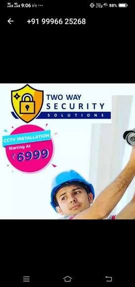 Cctv camera service and installation