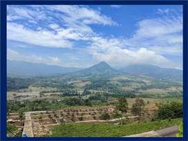 Tanah Kavling Nuansa Alam View Gunung