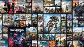 All pc games at the price of 100/- each