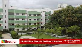 2 & 3 BHK apartments FOR SALE  in Hosur Road,Electronic City Bangalore