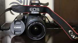DSLR Canon 3000D Camera for daily rent, it's new one.