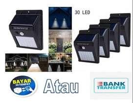 Lampu LED taman tenaga surya murah 30 LED BISA BAYAR DITEMPAT