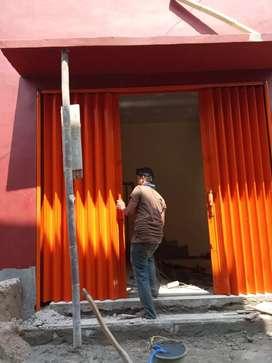 Rolling door dan follding gate