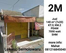 Rumah Jalan Semolo Surabaya