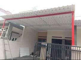 @56 canopy rangka tunggal atap alderon pvc anti berisik terbaru