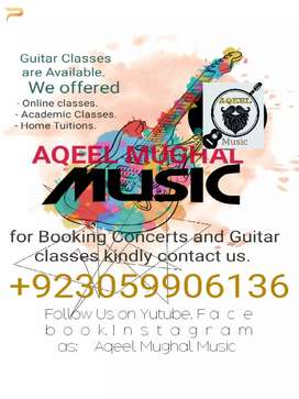 Guitar Teacher Available