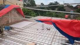 Cor dak menggunakan bondek dan renovasi