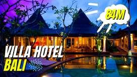 Villa hotel Ubud Bali