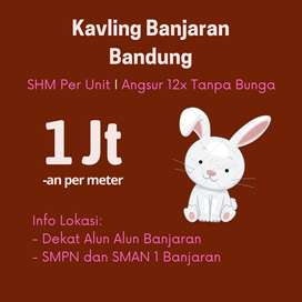 Tanah Bandung Dekat Alun Alun Banjaran