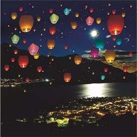 sky flying lanterns only rupees 60