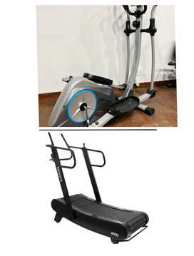 Availability of gym products available (treadmill dumbbell plate all