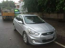 December 2011 single hand driven Hyundai fludic verna
