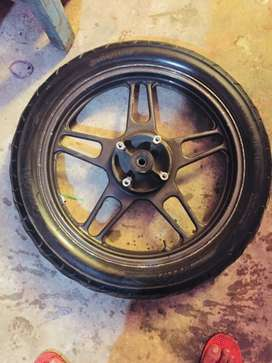 TYRE WITH ALLOY