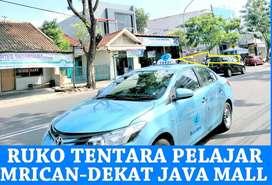 Ruko Strategis Jalan Raya Mrican-Tentara Pelajar-PasarKambing Semarang