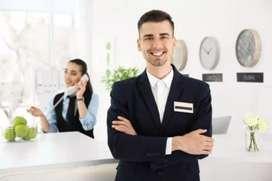 Hotel Receptionist Cum Admin Manager