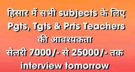 PGTS. TGTS. Teachers