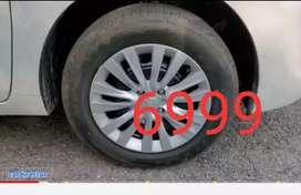 """6999    4 piece baleno delta rim 15. """""""""""" With wheel cover price fix"""