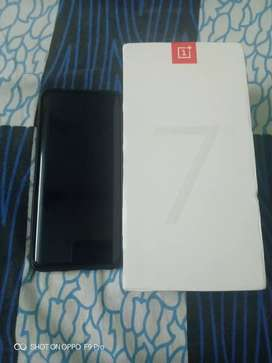 One plus 7 pro 2 months old and fully new all the things available.