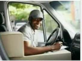 Urgent hiring in service centre for driver