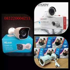 hemat & praktis pemasangan kamera CCTV/ 1 sett paket lengkap