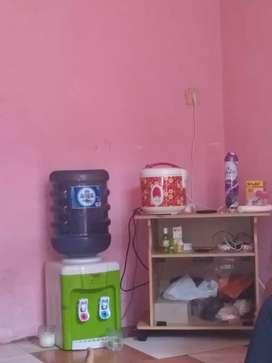 Jual dispenser + galon + mejikom + lemari tv