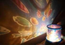 Lampu Tidur Proyektor Star Master Motif Laut