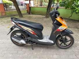 Honda Beat injeksi thn 2013 plat AB Kota