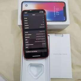 Iphone x 256gb, mulus total