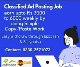 Classified Ad Posting