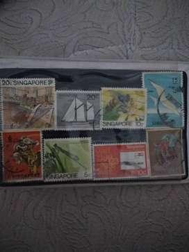 Souvenir booklet koin singapura Dan malaysia
