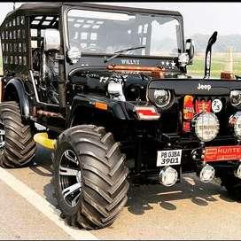 Modified open jeep khula jeep