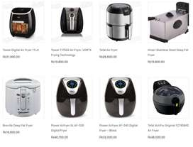 Air And Deep  Fryer 1, 3, 5, 11, Ltr