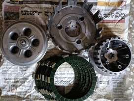 Rxz 6 speed clutch assembly, also other spare parts available